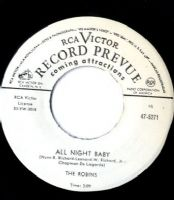 Robins,The - All Night Baby/Oh Why (47-5271) M